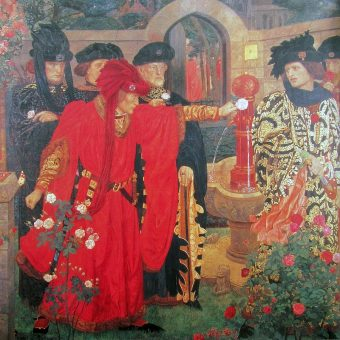 """Nazwa """"Wojna Dwóch Róż"""" pochodzi od tego, że obydwa zwaśnione rody miały w herbach róże - Yorkowie białą, Lancasterowie czerwoną."""