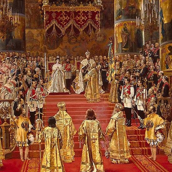 Wraz z Aleksandrem koronowano jego żonę, Marię Fiodorownę.