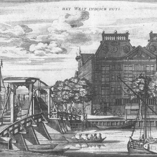 Jeden z oddziałów Kompanii mieścił się w Amsterdamie.