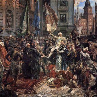 Konstytucja 3 maja została przyjęta w atmosferze przypominającej niemal zamach stanu.