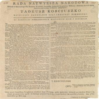 Uniwersał połaniecki był drugim po Konstytucji 3 maja dokumentem zapowiadającym poprawę losu chłopów.