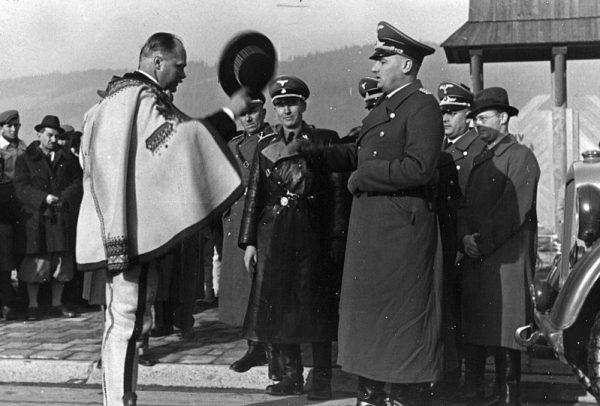 """Przywódcą ruchu proniemieckiego na Podhalu był Wacław Krzeptowski. Jego plany tworzenia """"legionu góralskiego"""" spełzły jednak na niczym."""