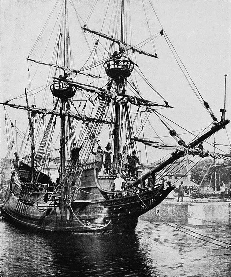 W trakcie swej wyprawy w 1609 roku Hudson dopłynął do ujścia rzeki w dzisiejszym stanie Nowy Jork, co dało początek holenderskiemu osadnictwu w tym rejonie. Na zdjęciu replika statku Hudsona przekazana w 1909 roku Amerykanom z okazji 300-lecia odkrycia.