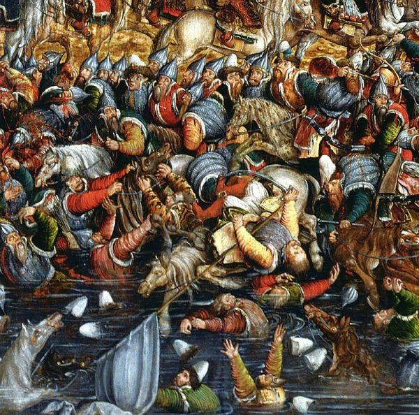 Bitwa pod koniec przemieniła się w prawdziwą rzeź wojsk moskiewskich.