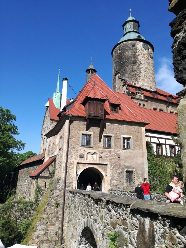 Piękny i tajemniczy Zamek Czocha okazał się idealną scenerią festiwalu kuchni historycznej (fot. Aleksandra Zaprutko-Janicka)