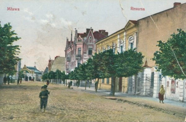 Pocztówka z Mławy. Początek XX wieku