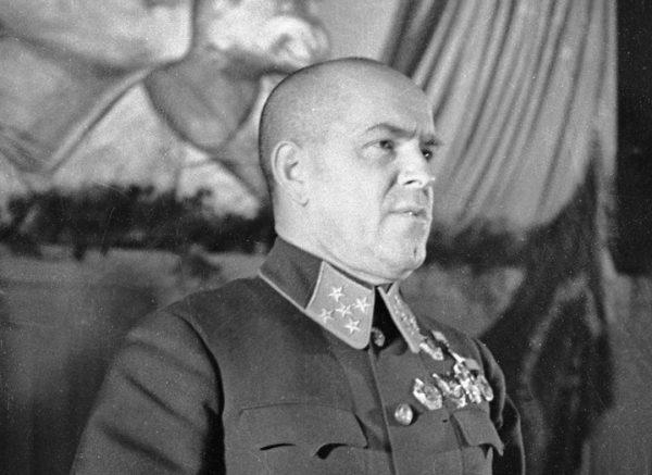 Szefem Sztabu Generalnego Armii Czerwonej od stycznia 1941 roku był generał Gieorgij Żukow.
