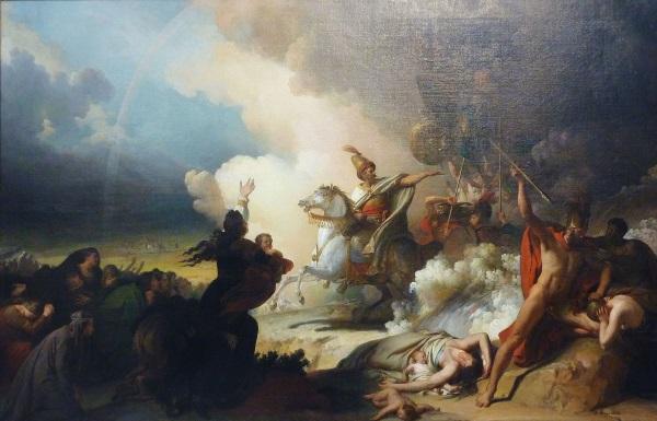 Saladyn pod Jerozolimą (fot. domena publiczna)