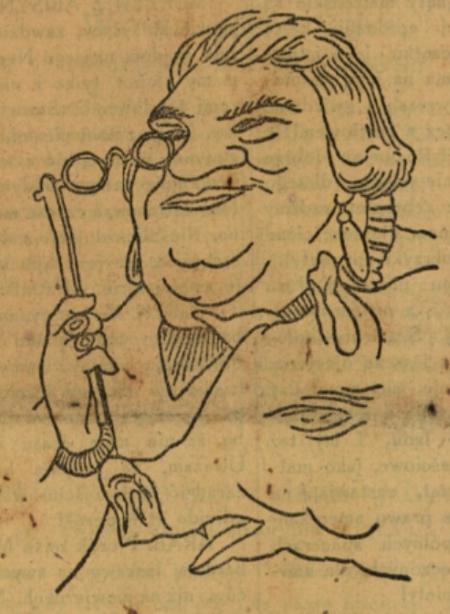 Teściowa na satyrycznym rysunki z lat 20. Motyw z okładki zbioru tekstów humorystycznych wydanego przez Jana Żelewskiego.