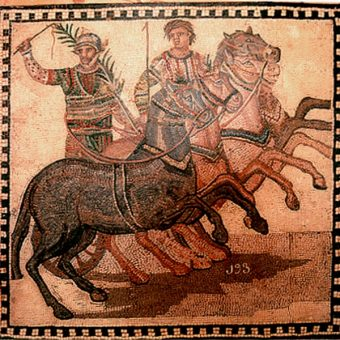 Wyścigi rydwanów w starożytnym Rzymie (fot. domena publiczna)