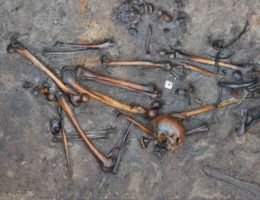 Wykopaliska w Alken Enge w Danii (fot. Holst et al., PNAS, lic. CC by 4.0)