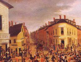 Od zapadłej kolonialnej dziury do światowej metropolii. Jak Nowy Jork stał się najpotężniejszym miastem globu? Obraz George'a Catlina (1827).