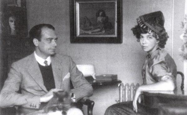 Leonor Fini swój romans z Konstantym Jeleńskim nawiązała, gdy od ponad dekady była już w związku ze Stanislao Leprim, włoskim dyplomatą, a następnie malarzem. Na zdjęciu Lepri i Fini w Rzymie w 1944 roku.