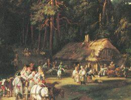 Karczmy od średniowiecza były jednym z miejsc, wokół których ogniskowało się życie lokalnych społeczności.