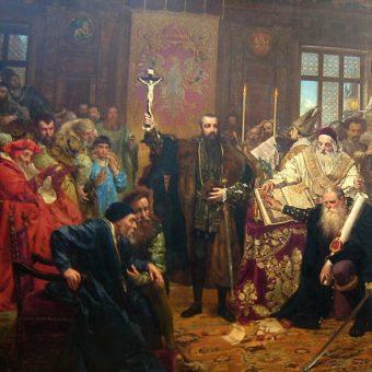 Unia z 1569 roku zacieśniła związek między Polską i Litwą, tworząc między innymi wspólny dla nich Sejm.