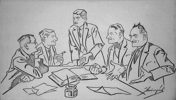 W 1930 roku część członków Zarządu Głównego PSChD wciąż liczyła na możliwość porozumienia z obozem rządzącym.