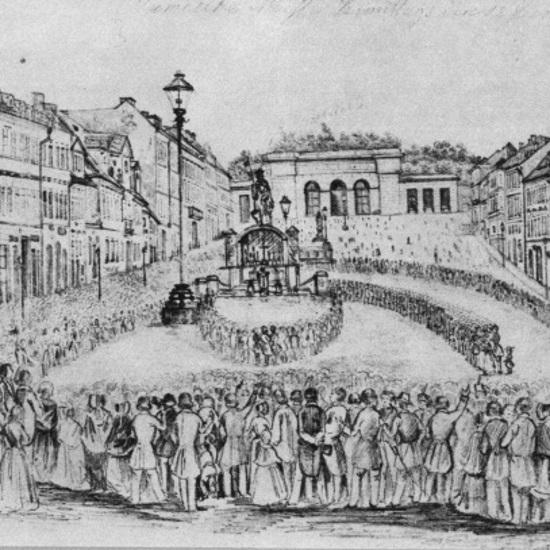 W Pradze pojawiło się 340 przedstawicieli różnych narodów słowiańskich.