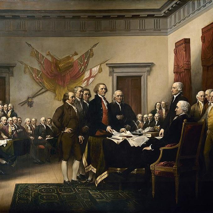 Komitet Pięciu zaprezentował tekst Deklaracji II Kongresowi Kontynentalnemu 28 czerwca 1776 roku.