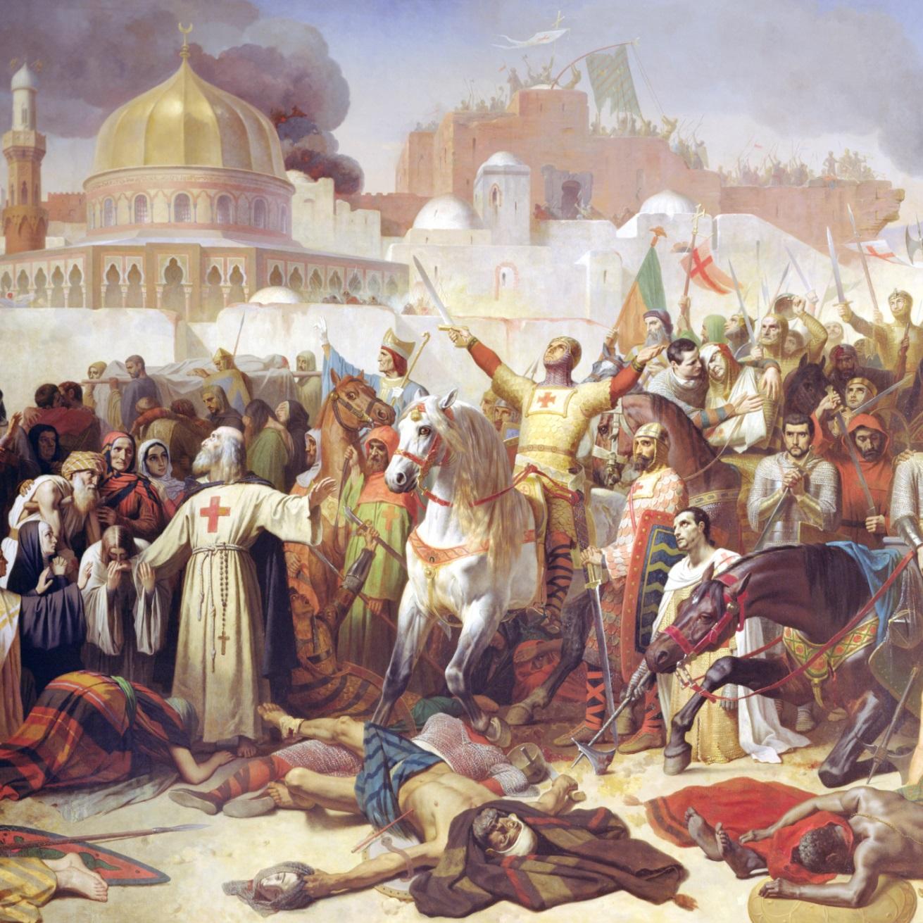 Oblężenie Jerozolimy trwało od 7 czerwca do 15 lipca 1099 roku.
