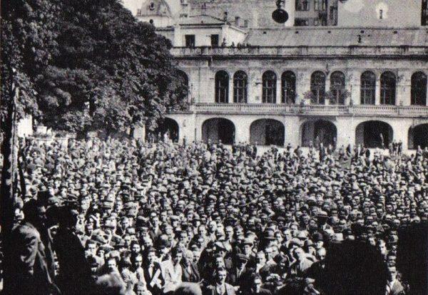 15 września 1930 roku, krótko po aresztowaniach, w Dolinie Szwajcarskiej odbył się wiec Centrolewu.
