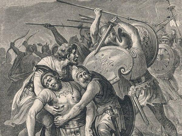 Spartakus zginął z mieczem w ręku. Zanim do tego doszło, zabił własnego konia, by odciąć sobie drogę ucieczki.