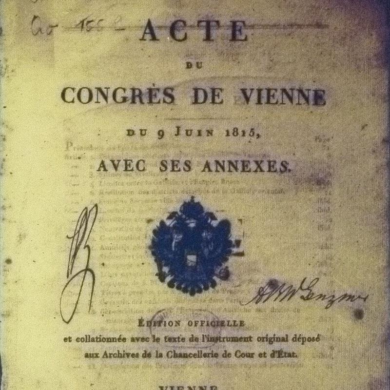 Akt końcowy zbierał liczne postanowienia, które podjęto w trakcie obrad kongresu.
