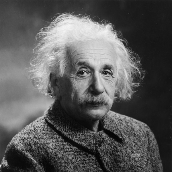 Albert Einstein (fot. domena publiczna)