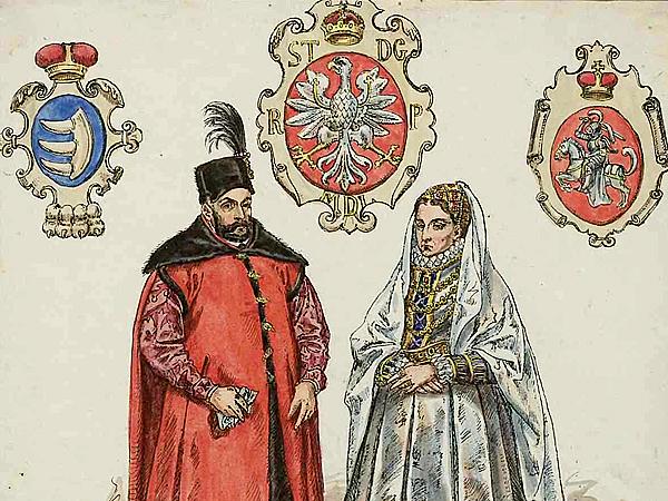 Na Jarmarku odbędzie się spotkanie pewne niezwykłej pary, tu uwiecznionej na obrazie Jana Matejki.