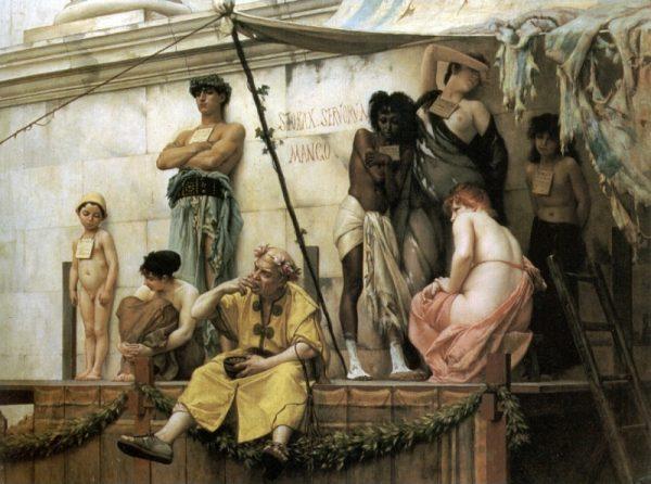 Niewolnictwo utrzymywało się w Europie aż do czasów oświecenia.