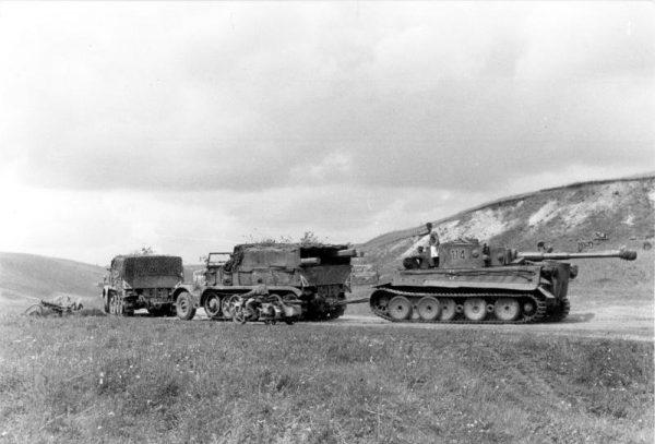 PzKpf VI debiutowały na froncie wschodnim, pod Leningradem.