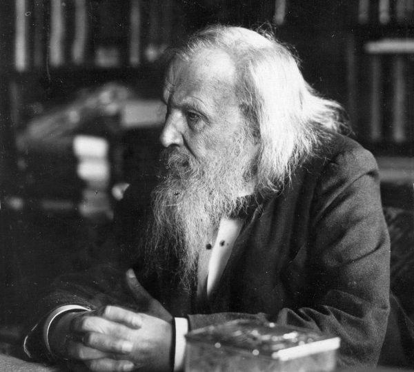 Odkrycia Mendelejewa nie przyniosły mu sławy w Rosji. Od 1890 roku nie pracował już na uniwersytecie. Zdjęcie z 1897 roku.
