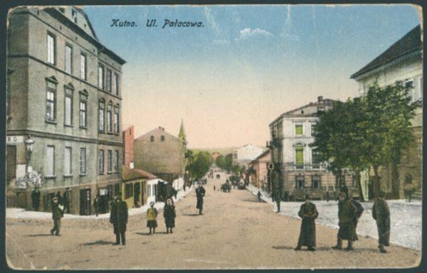 Kutno na pocztówce z początku XX wieku