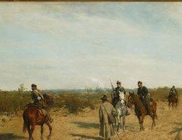 Patrol powstańczy – obraz Maksymiliana Gierymskiego, ok. 1873 roku.
