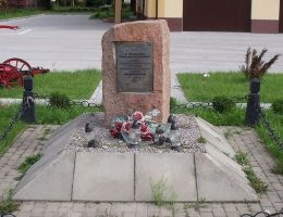 Pomnik upamiętniający bitwę pod Jurkowcami (21 października 1863).
