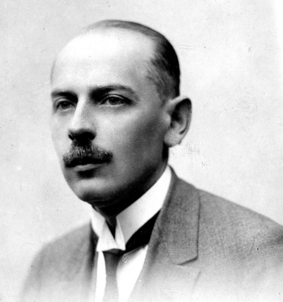Stanisław Śliwiński na fotografii portretowej
