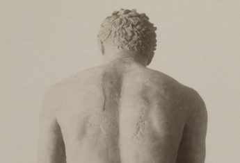 Statua młodzieńca, koniec XIX wieku