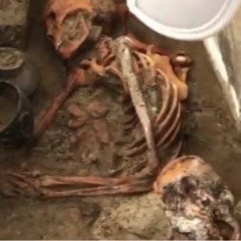 Syberyjska mumia sprzed 2000 lat (fot. screen materiału przygotowanego przez Izwiestia)