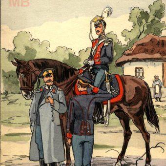 Żołnierz Gwardyjskiego Pułku Ułanów.