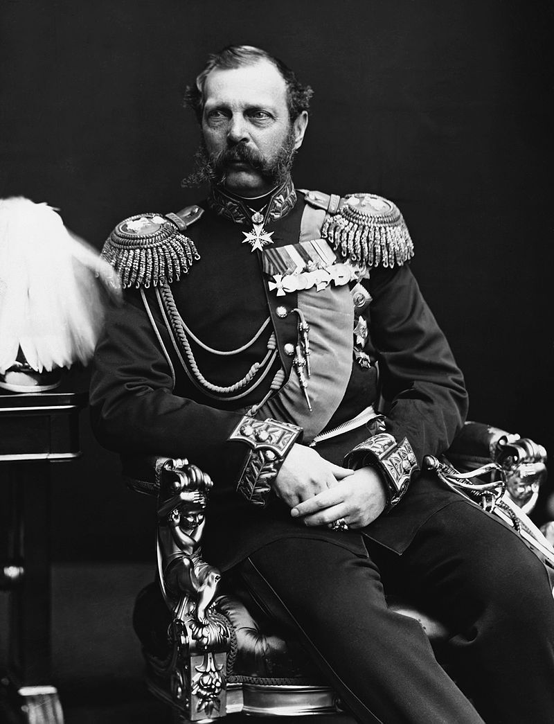Ukaz cara Aleksandra II (na zdjęciu) pozwolił na uwłaszczenie chłopów w Królestwie Polskim.