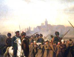 Po bitwie pod Nieznanicami, 52 powstańców trafiło do niewoli.