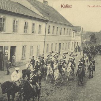 Widok Chmielnika po 1906 roku.
