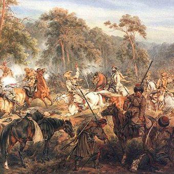 Obraz Juliusza Kossaka Bitwa pod Ignacewem