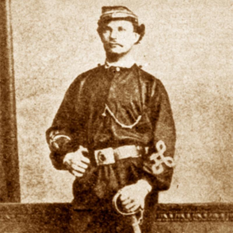 Major Karol Kalita i jego oddział zmusili wroga do odwrotu.