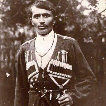 Kozak kubański, początek XX w.