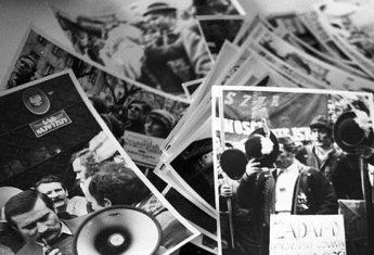 """""""Solidarność"""", mimo pozornej spójności, była wewnętrznie podzielona. Znalazły się w niej nawet frakcje skrajnie radykalne..."""