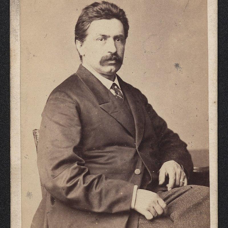 Zgrupowanie Edmunda Różyckiego (Generał na zdjęciu z około 1886 roku), starło się z oddziałami pułkownika Gołubiewa.