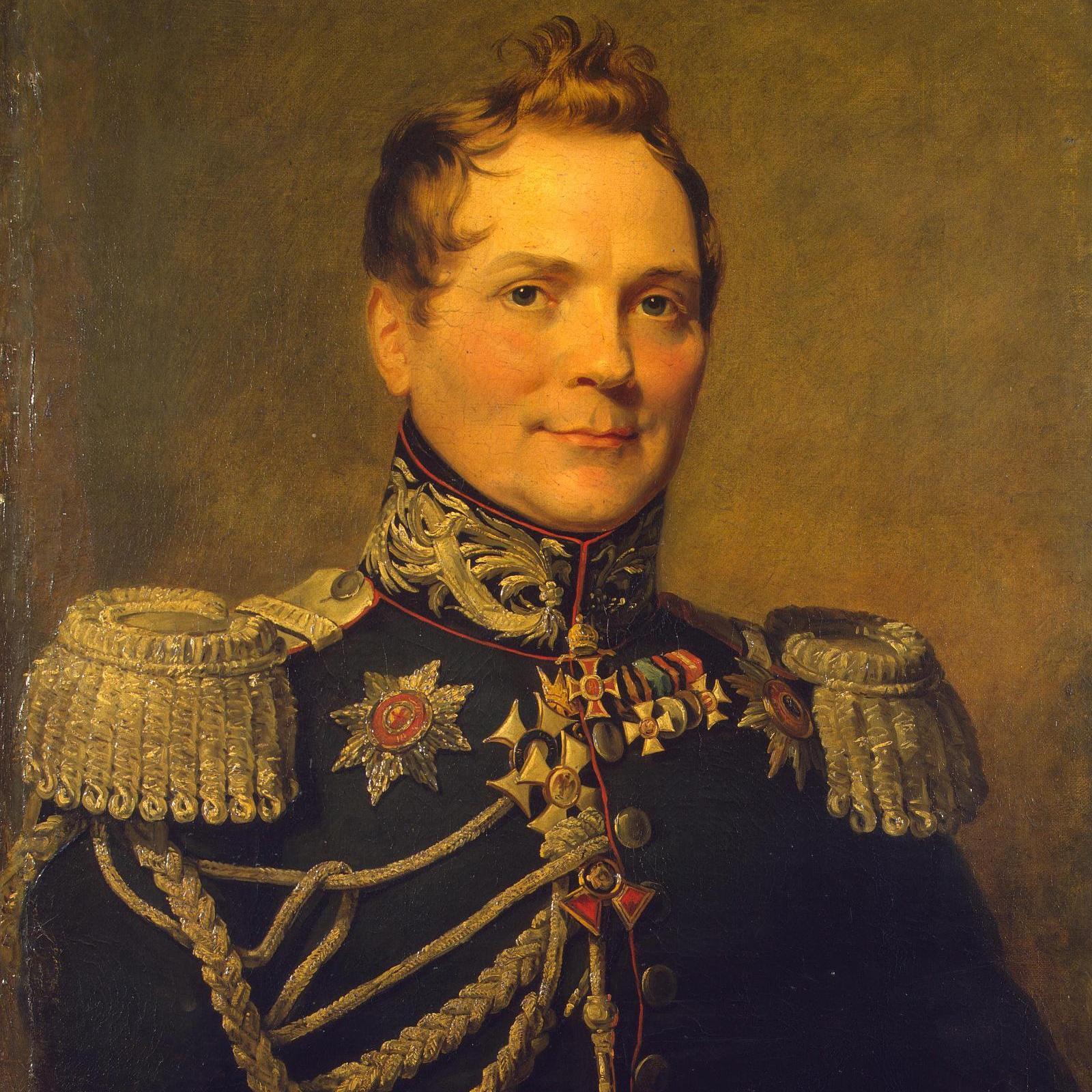 Oddział 1500 powstańców zorganizował zasadzkę na część żołnierzy generała Tolla (na portrecie), która przerodziła się w walkę z całym jego oddziałem.