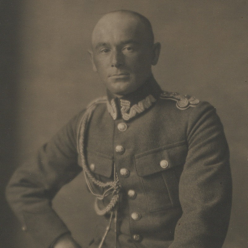 Dowódca 3 Armii generał Edward Rydz-Śmigły.