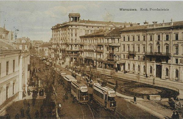 Pożegnalny bankiet zwolennicy Piłsudskiego zorganizowali w Hotelu Bristol.