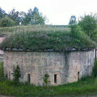 Kaponiera Fortu Różan.